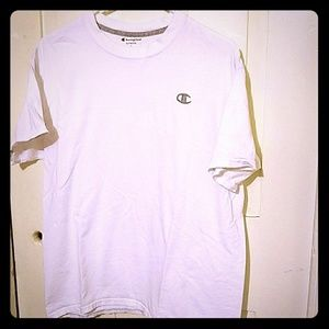 Men's Champion Large White T-shirt